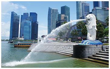 シンガポール中心部 シンガポー...