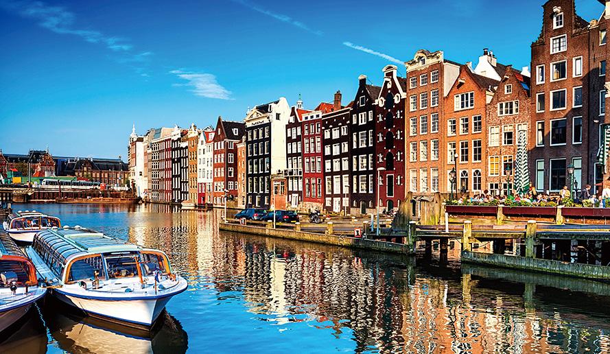 アムステルダムの市街地は2010年世界遺産に