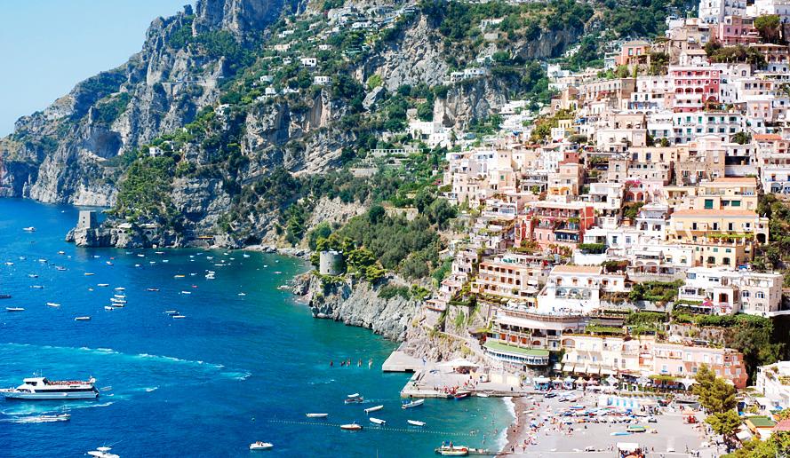 イタリア 海岸 アマルフィ