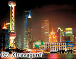 上海とその周辺|浦東(夜景)